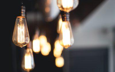 Verschillende lichten en lampen